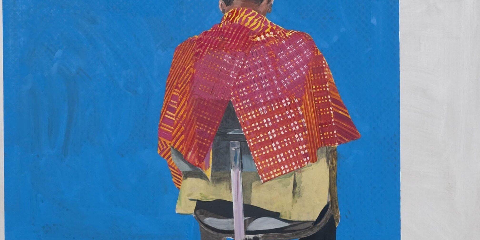 Hurvin Anderson, Peter's: Sitters II, 2009