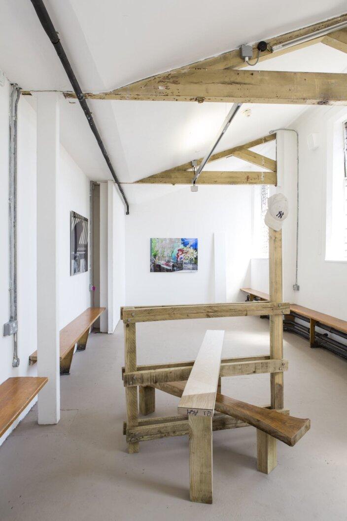 Berry Patten, London Stile, 2013, installation view at Zabludowicz Collection, London