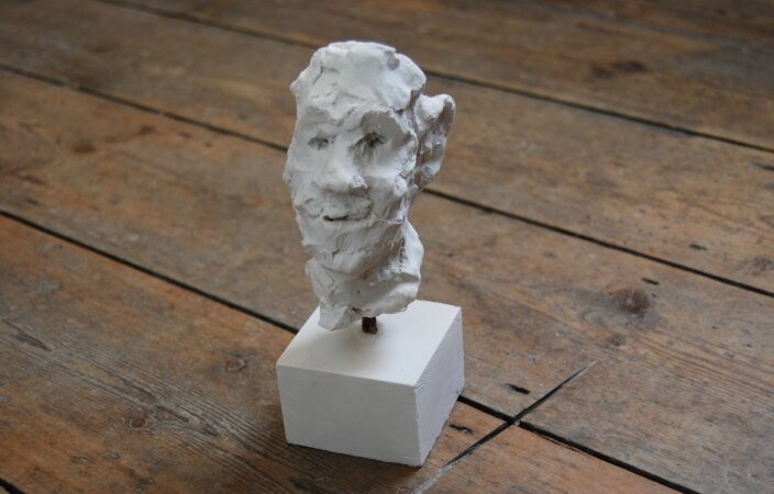 Henry Coombes, 'Watch your head.' 'I can not watch my head, both my eyes stare out of my face.', 2009. Limited edition for the Zabludowicz Collection.