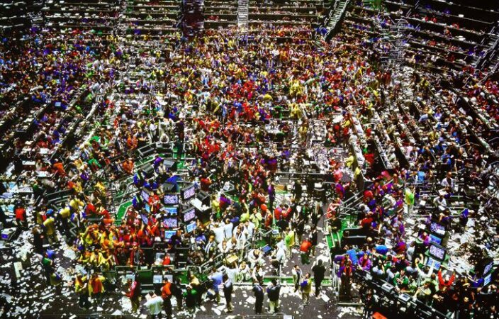 Andreas Gursky, Chicago Board Of Trade II, 1999