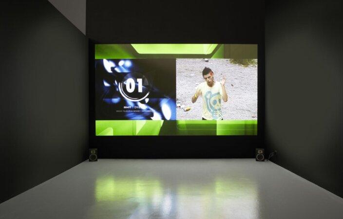 Aleksandra Domanovic, 19:30, 2011 Installed at Tobačna 001 Cultraul Centre, Ljubljana