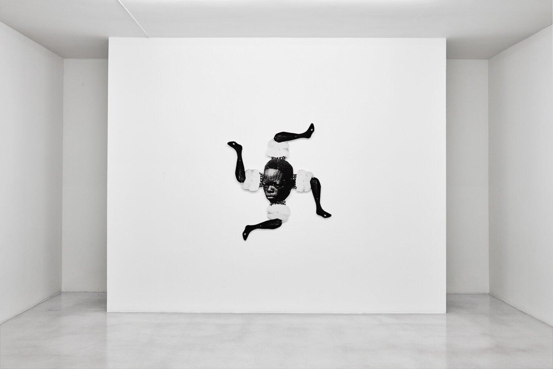 Frida Orupabo, Untitled, 2018. Photo: Carl Henrik Tillberg