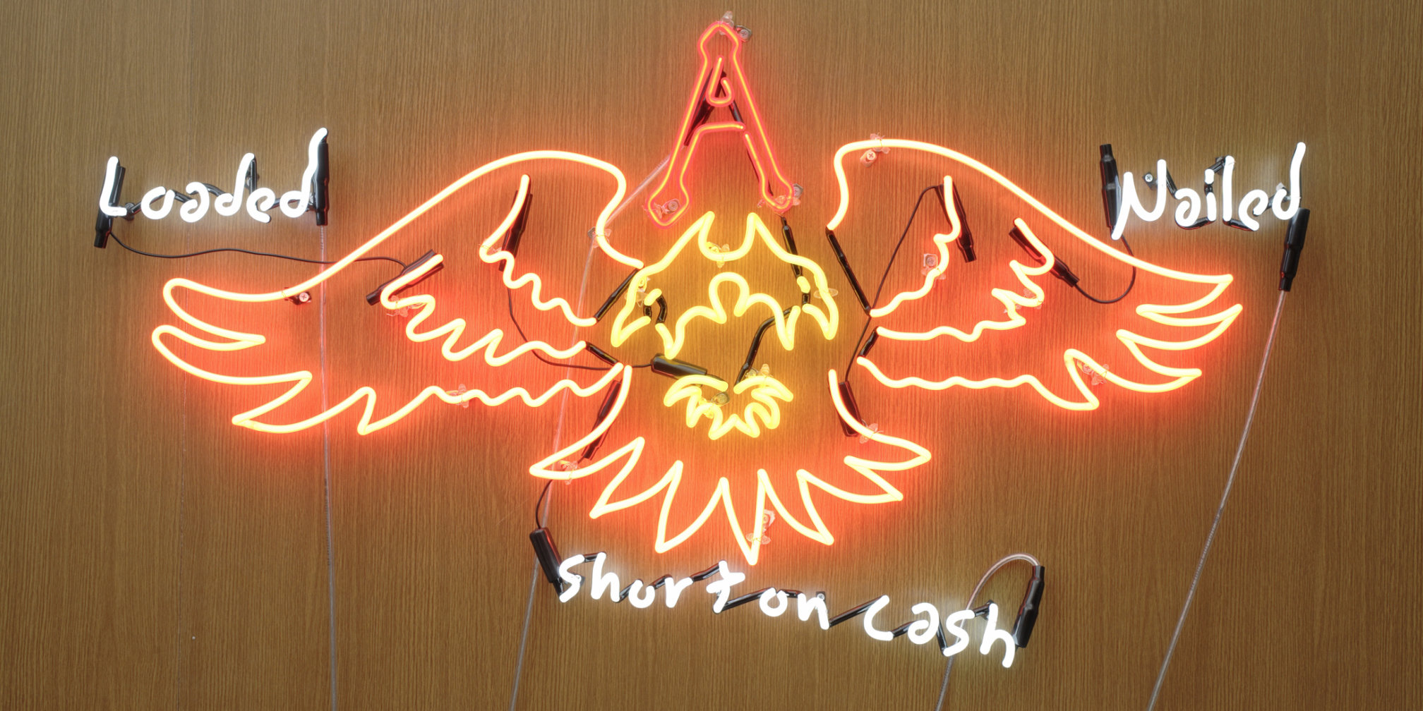 Dan Attoe, Loaded, Nailed and Short on Cash, 2006 (detail)