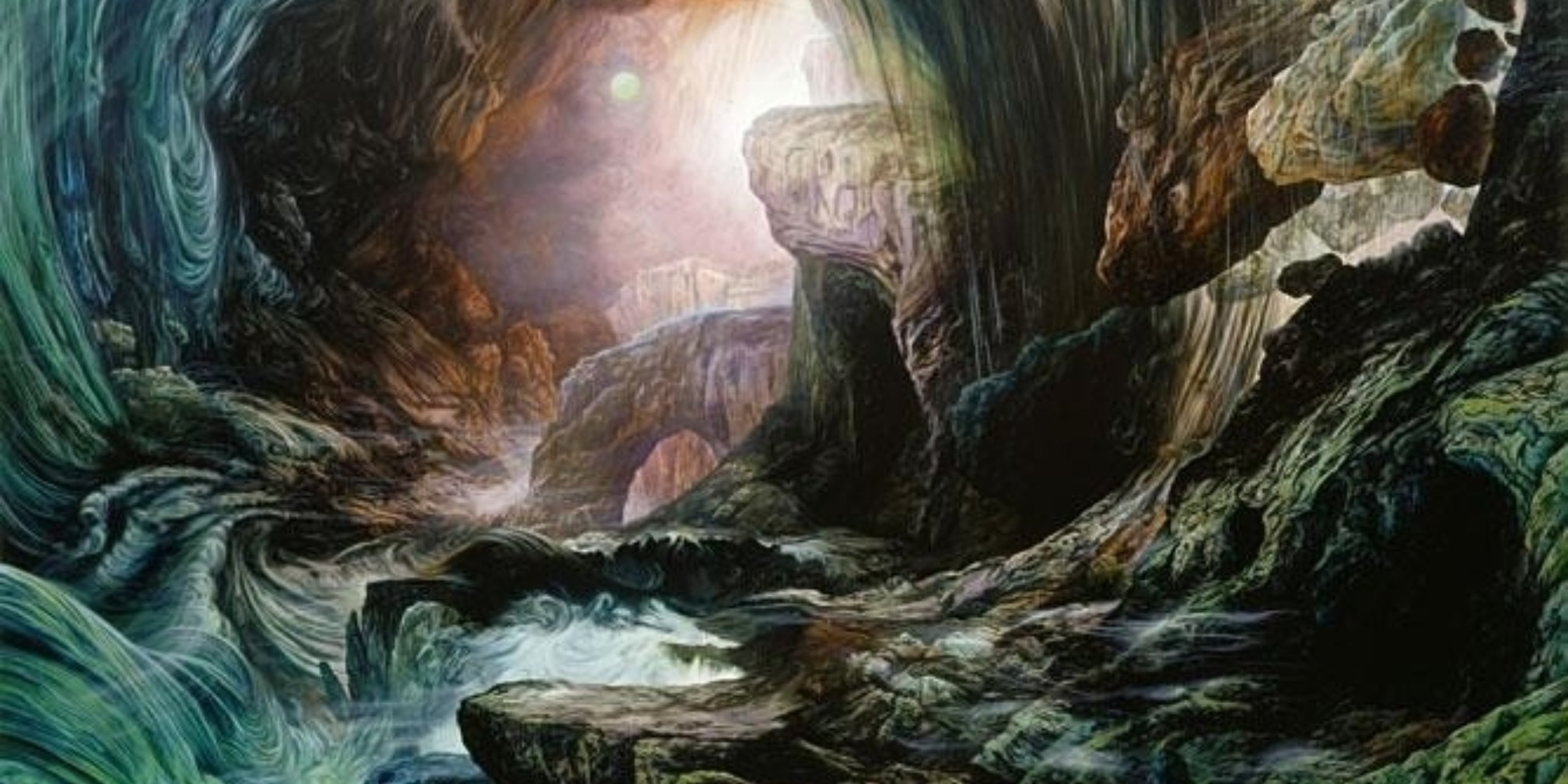 Glenn Brown: Fantasy Landscapes, Portraits and Beasts