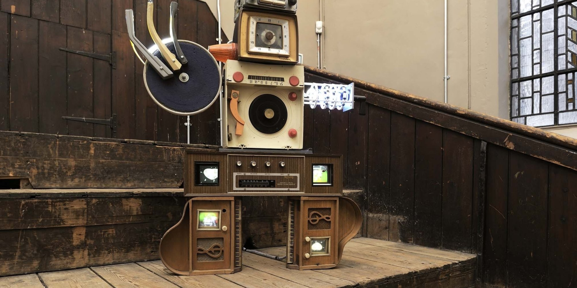 Work by Nam June Paik from the Zabludowicz Collection on show in Edinburgh