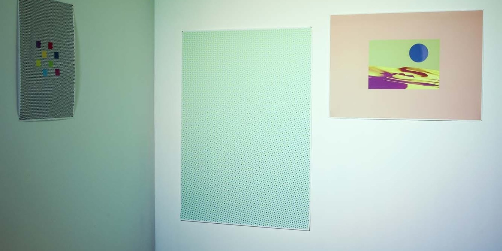 You Screen I Screen Unscreen Sunscreen featuring work by Richard Sides