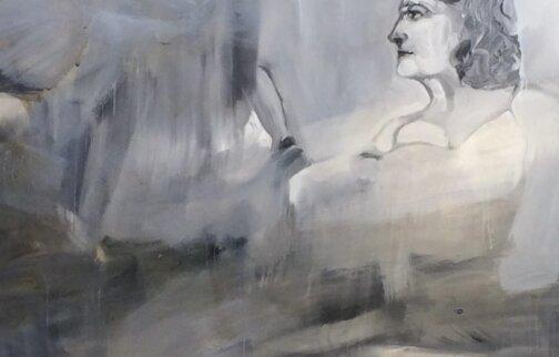 Albert Oehlen, Bad, 2003 (detail)