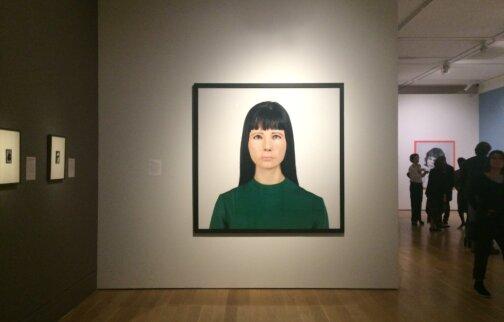 Gillian Wearing 'Self Portrait' on loan to National Portrait Gallery