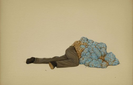 Alex Ball, The Obstacle, 2010