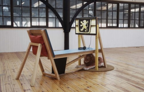 Work by Heather Phillipson from the Zabludowicz Collection on show in London