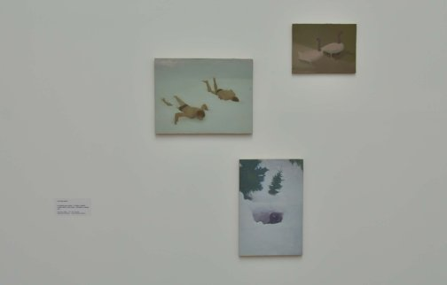 Works by Victor Man from the Zabludowicz Collection on show in Prague