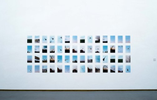 """Concorde Grid by Wolfgang Tillmans is currently on display at Tate Britain in """"Looking at the View"""""""