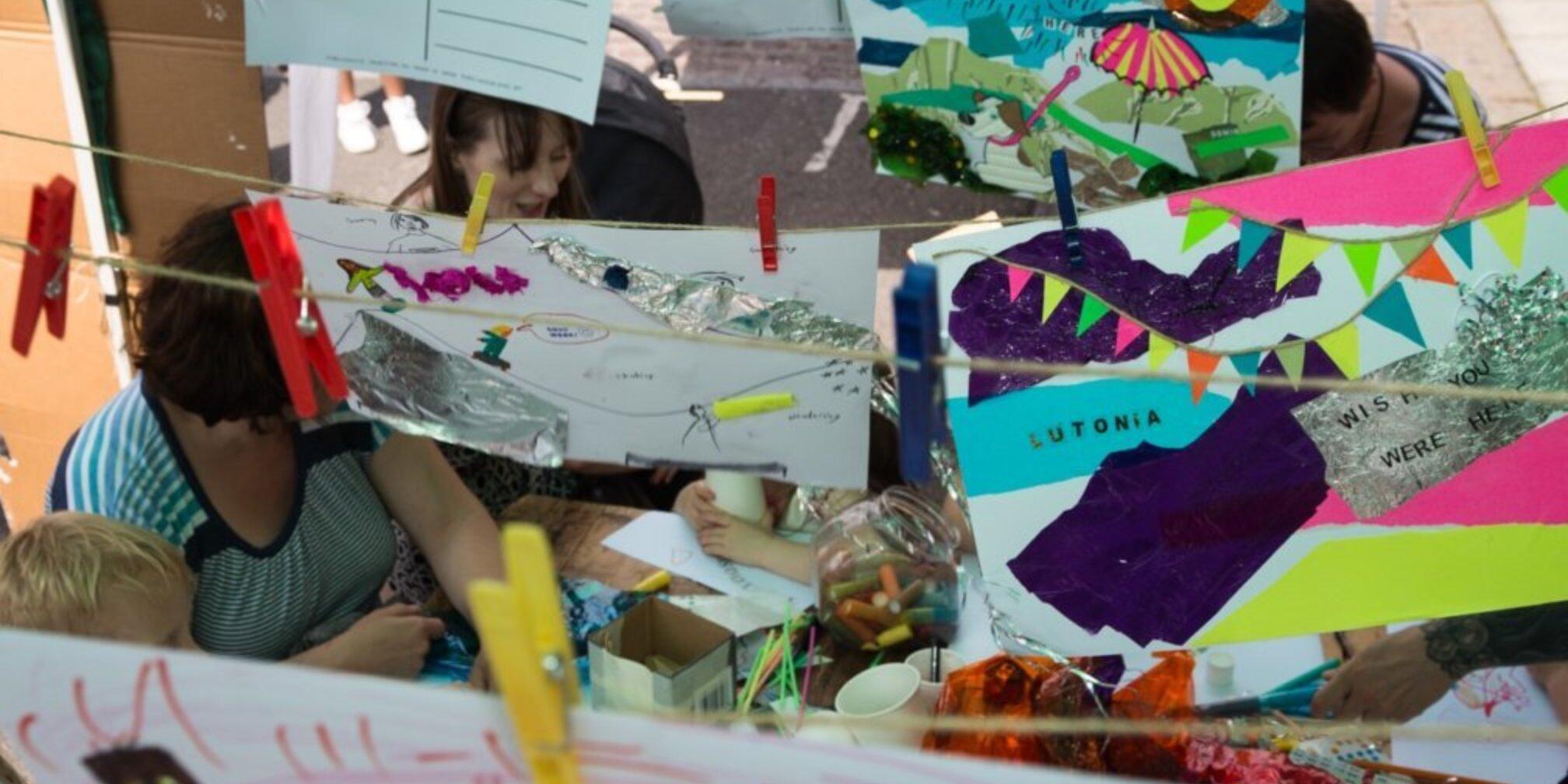 Families Create Offsite: Alma Street Fair