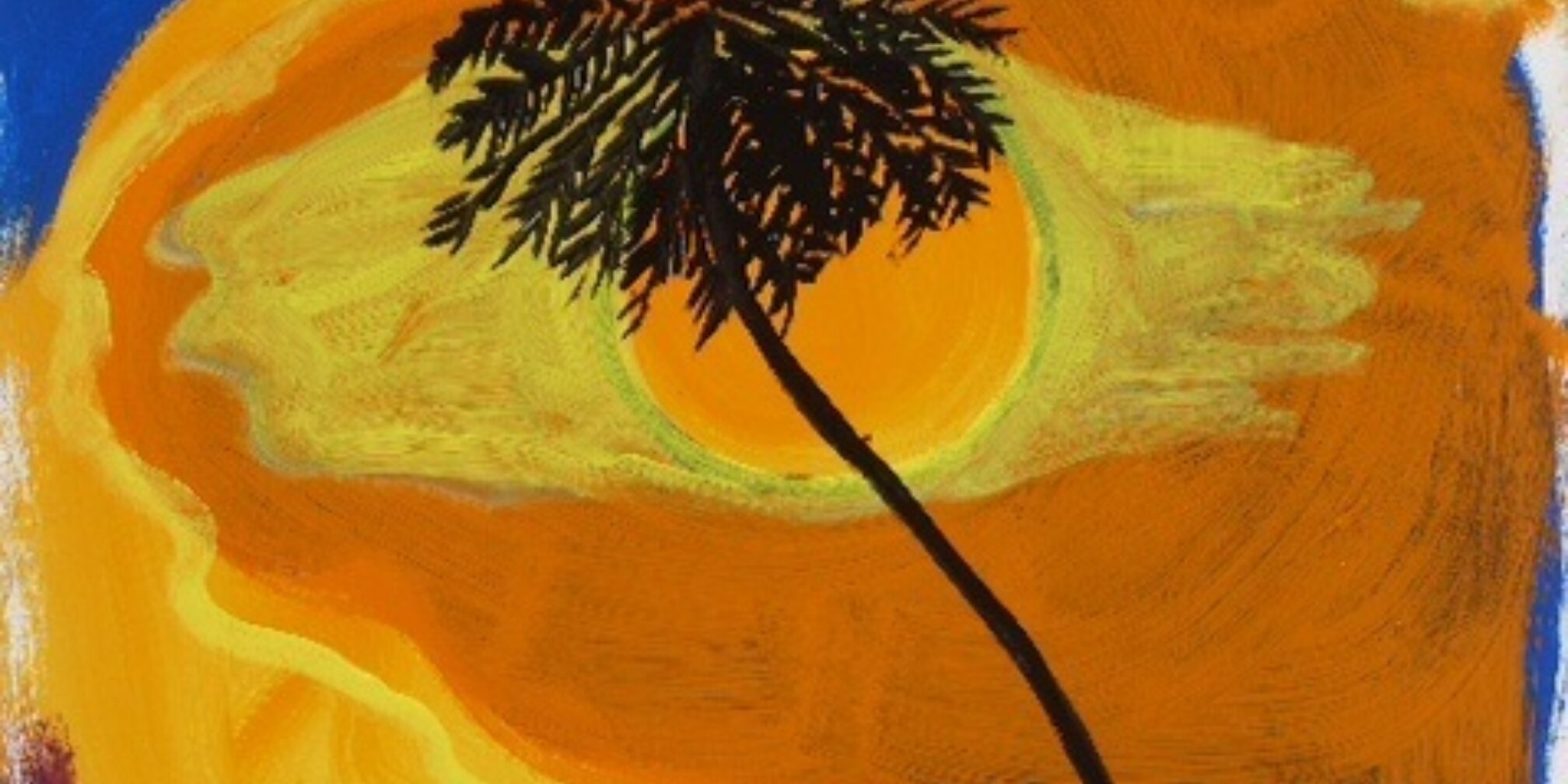 Families Create At Home: Painting Sunsets