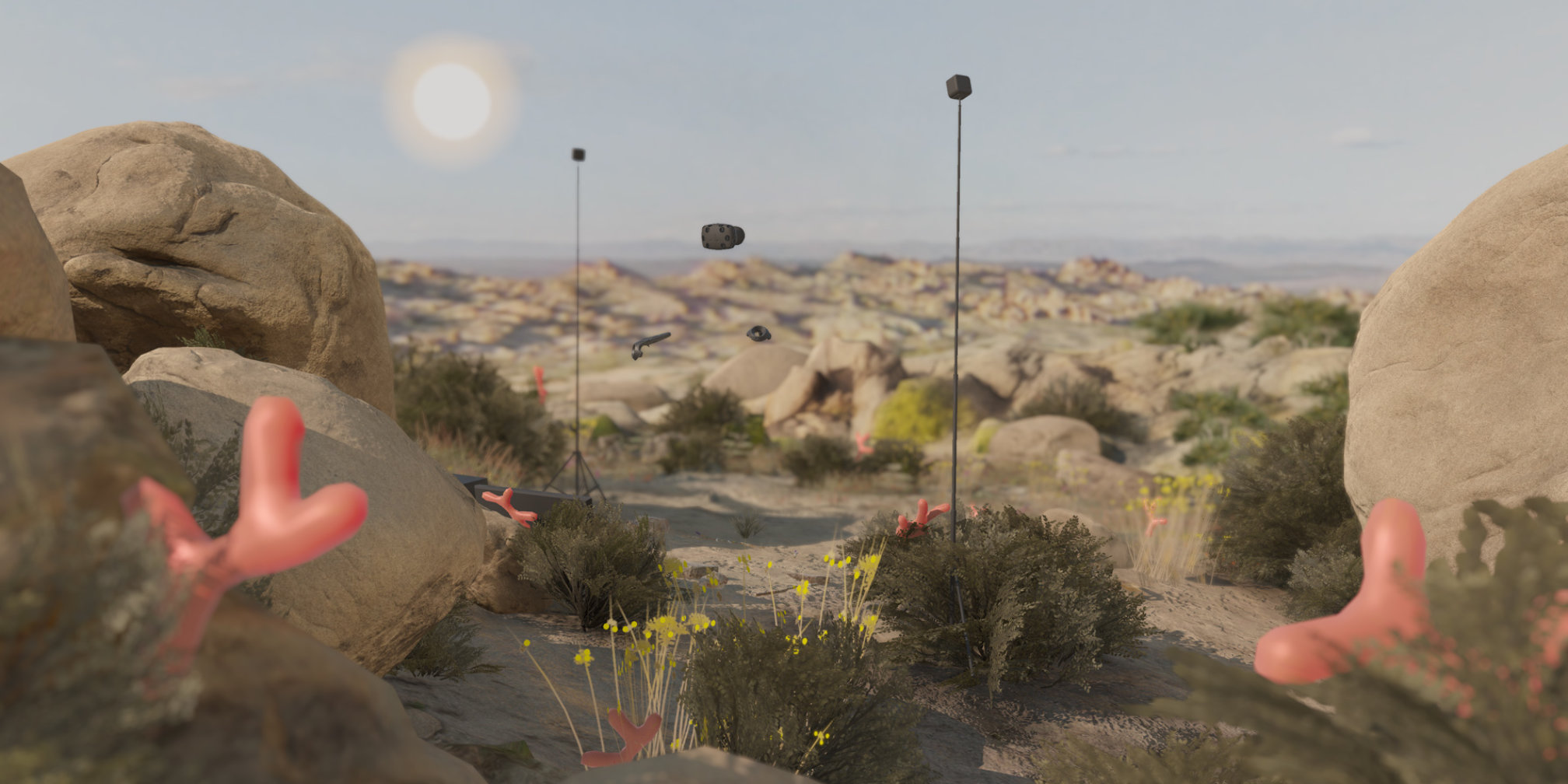 Theo Triantafyllidis, Staphyloculus (or the paradox of site specificity of virtual realities), 2017. Virtual Reality, 5 min. Courtesy the artist