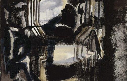 Varda Caivano, Untitled (2006), oil on canvas, 36 x 46 cm