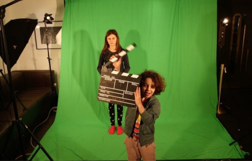 Families Create Half Term Special: Green Screen workshop with Chocolate Films