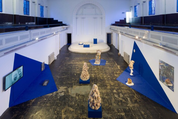 No Thing is Waiting, installation view at Zabludowicz Collection, London, 2021. Photo Tim Bowditch