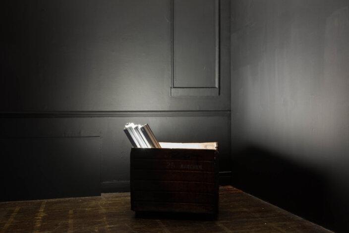 Yung Jake, jsuk, 2014, installation view No Thing is Waiting at Zabludowicz Collection, London, 2021. Photo Tim Bowditch
