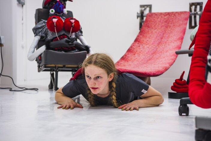 Performance documentation, 17 July 2021, Zabludowicz Collection, London. Photo: Jon Baker