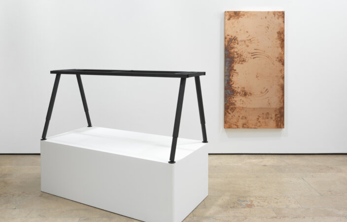 Walead Beshty, Table [Source: ...] 2014. Courtesy the Artist and Capitain Petzel, Berlin