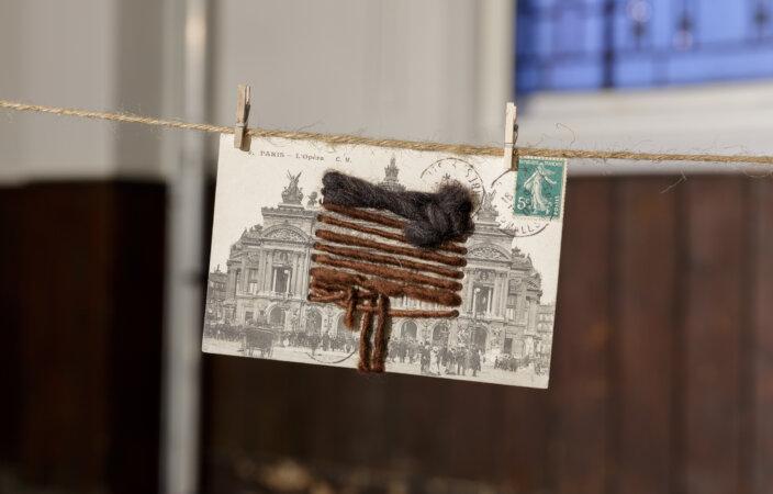 Alvaro Barrington, A Different World - If Chosen I May Not Run 11, 2017, installation view No horizon, no edge to liquid, 2020, at Zabludowicz Collection, London. Photo: Tim Bowditch