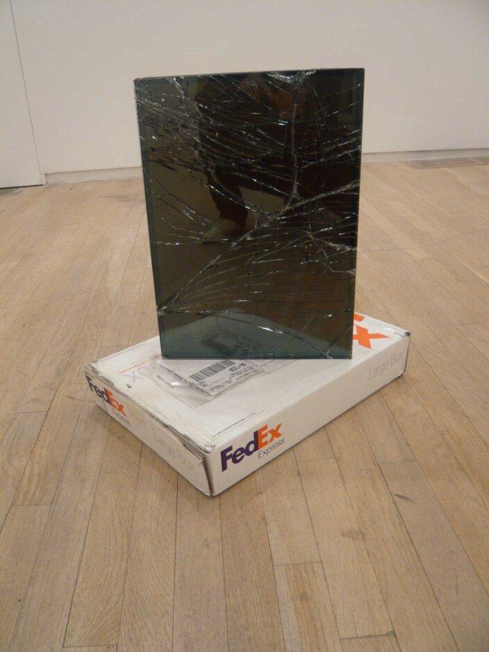 Walead Beshty, Fed Ex Large Box, Los Angeles-New York (tracking no.864049582968), 2007
