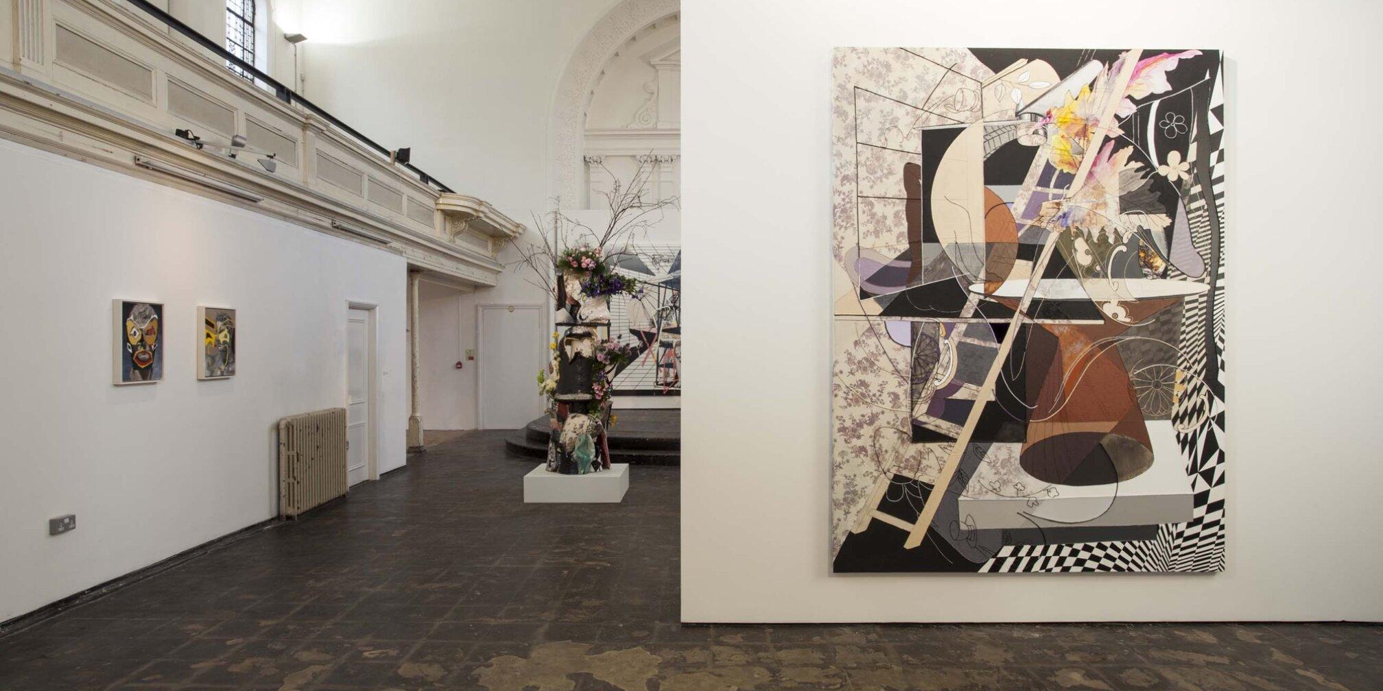 Painting from the Zabludowicz Collection: Francesca DiMattio: Vertical Arrangements