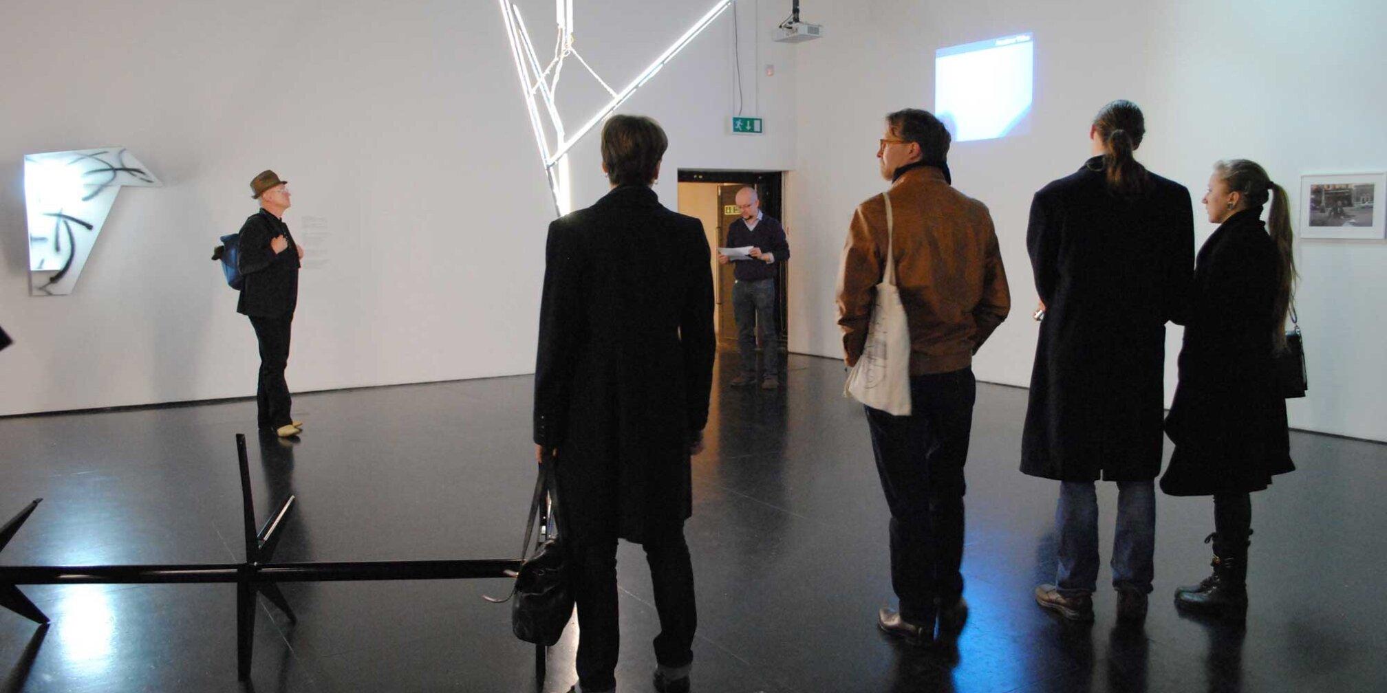 Eternal City an event with artist John Timberlake, 2014, Zabludowicz Collection, London.