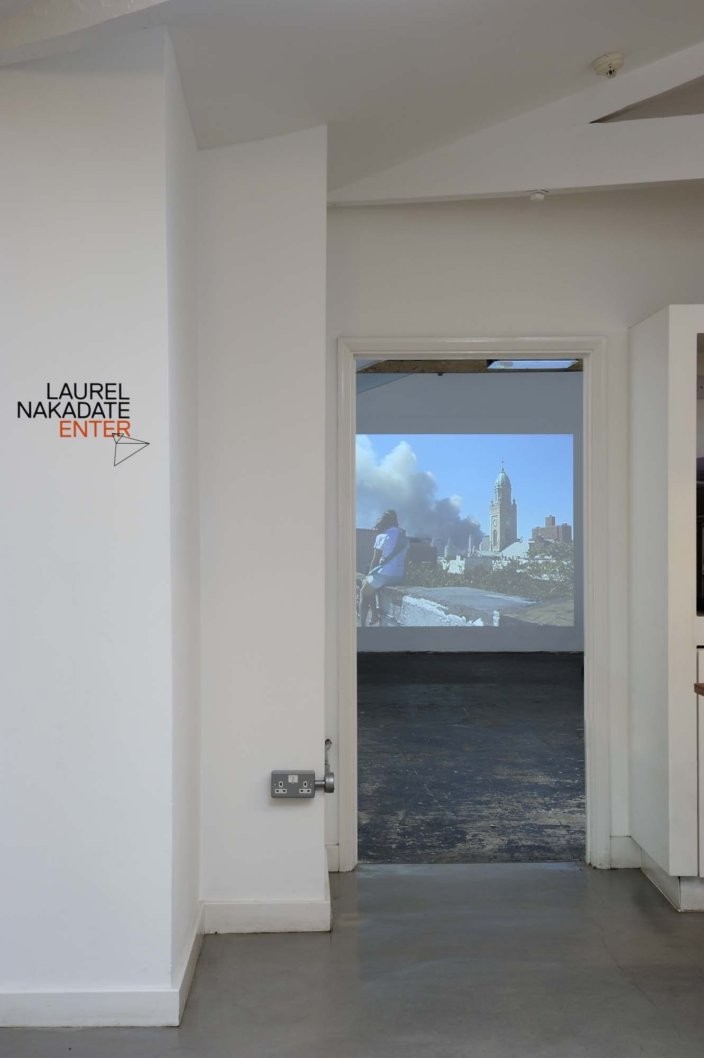 Laurel Nakadate, Greater New York, 2005, installation view, Laurel Nakadate, 2011 at Zabludowicz Collection. Photo: Thierry Bal