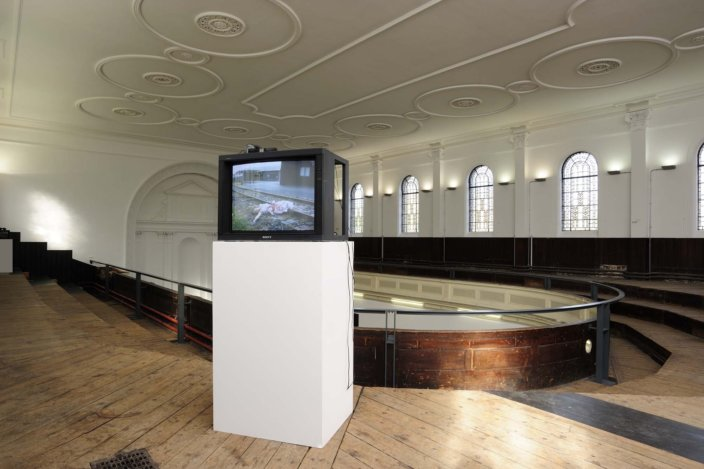 Laurel Nakadate, Where You'll Find Me, 2005,  installation view, Laurel Nakadate, 2011 at Zabludowicz Collection. Photo: Thierry Bal