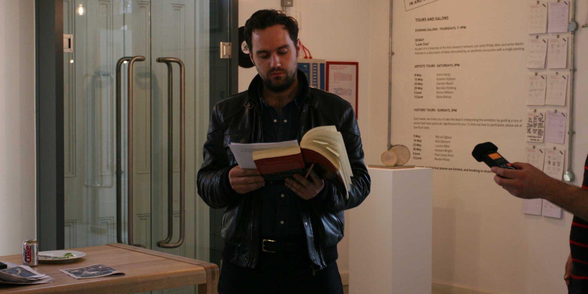 Artist's Tour - Barnaby Hosking