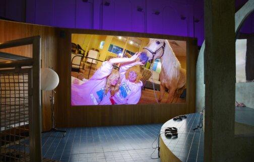 Lizzie Fitch/Ryan Trecartin tours to La Casa Encendida, Madrid