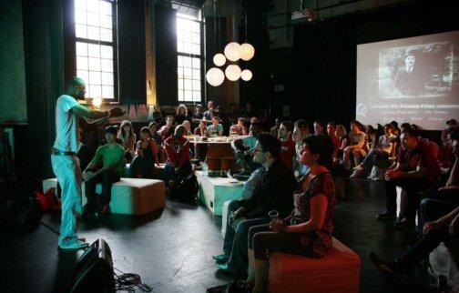 Soundcheck, 2009 at Zabludowicz Collection, London. Photo: Sharon O'Neil