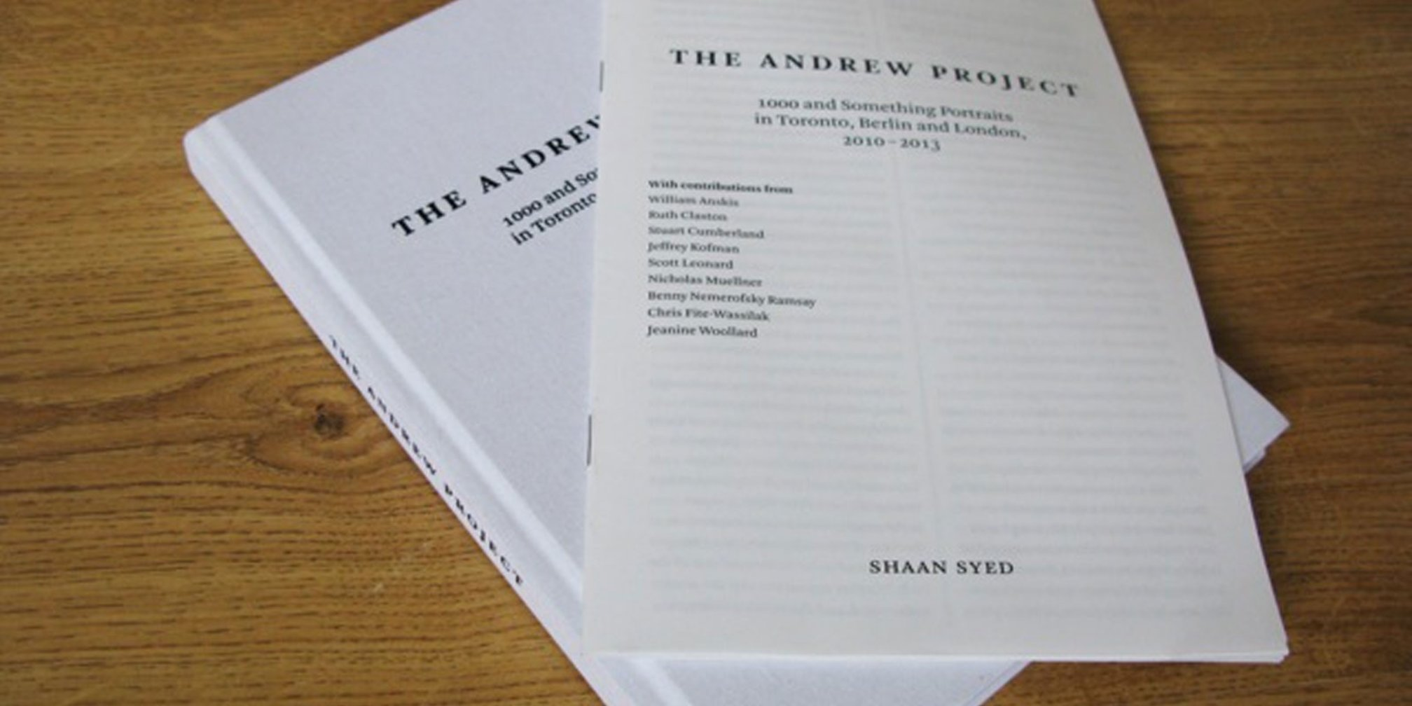 The Andrew Project, 2013