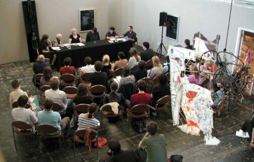 Panel Discussion: critics, curators, artists