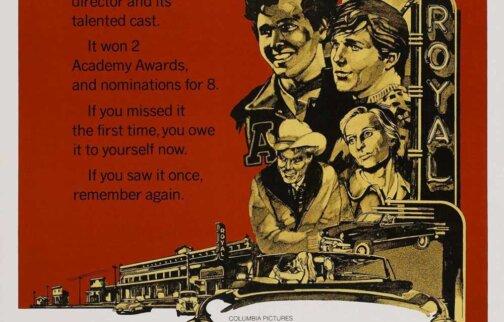 Peter Bogdanovich, The Last Picture Show, 1971 (film poster)