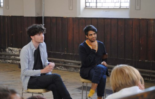 Saturday Talks - Haroon Mirza and Richard Birkett