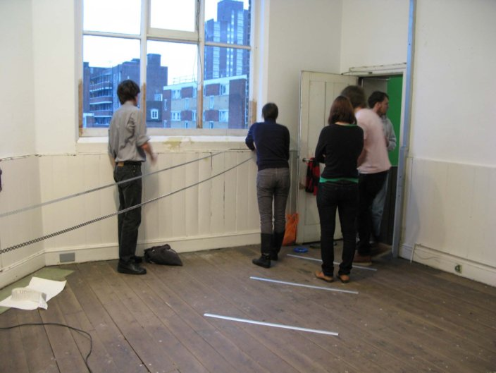 Testing Ground: Curating, 2009 at Zabludowicz Collection, London