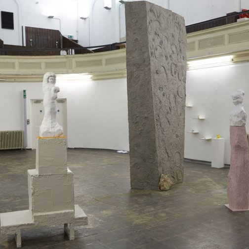 Installation view, Testing Ground: A Sense of Things, 2014 at Zabludowicz Collection, London. Photo: Andy Snaith