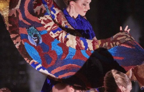 Linder, Children of the Mantic Stain, still from ballet, 2015