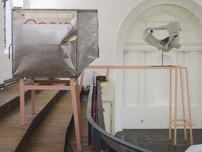Installation view, Toby Ziegler, The Alienation of Objects, 2010 at Zabludowicz Collection, London. Photo: Stephen White