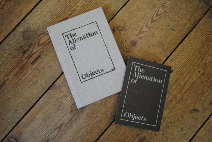 Toby Ziegler, The Alienation of Objects Exhibition Guide, 2010, Zabludowicz Collection