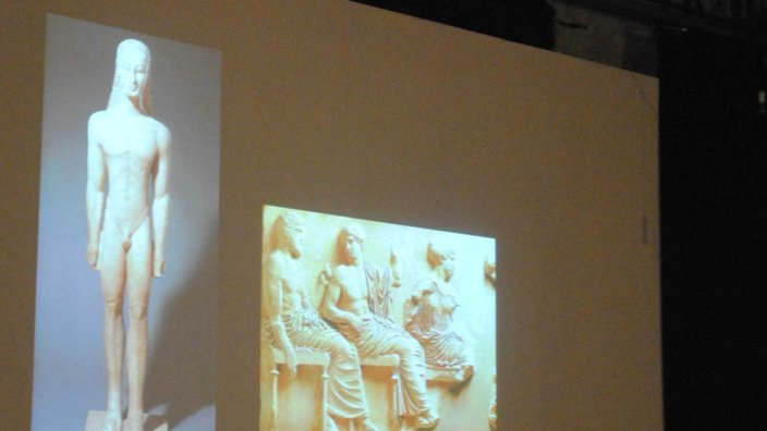 Perspectives on the past: Toby Ziegler and classical sculpture