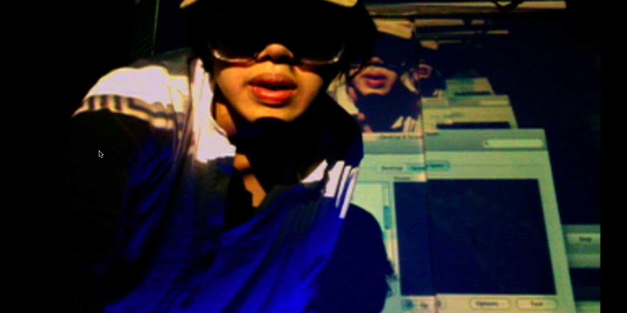 Trisha Baga, Madonna y El Niño, 2010 (still)