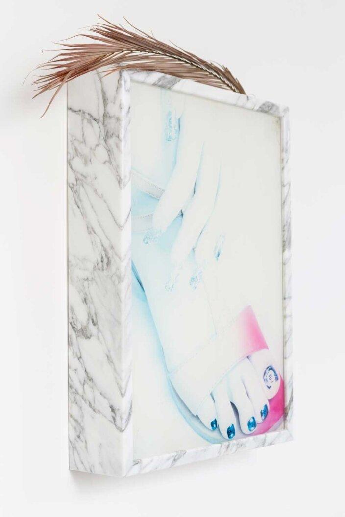 Gabriele Beveridge, By mistake or design, 2014, installation view, Zabludowicz Collection Invites: Gabriel Beveridge, 2014 at Zabludowicz Collection, London. Photo: Tim Bowditch.