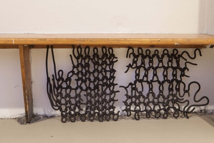 Installation view, Zabludowicz Collection Invites: Lucy Whitford, 2013 at Zabludowicz Collection, London. Photo: Tim Bowditch