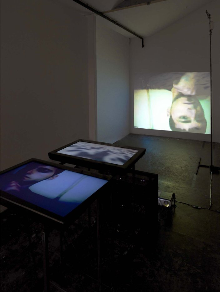 Lucy Woodhouse, Global Local Transition Transmission Connection Centre, 2012, installation view, Invites: Lucy Woodhouse, 2012 at Zabludowicz Collection, London. Photo: Tim Bowditch