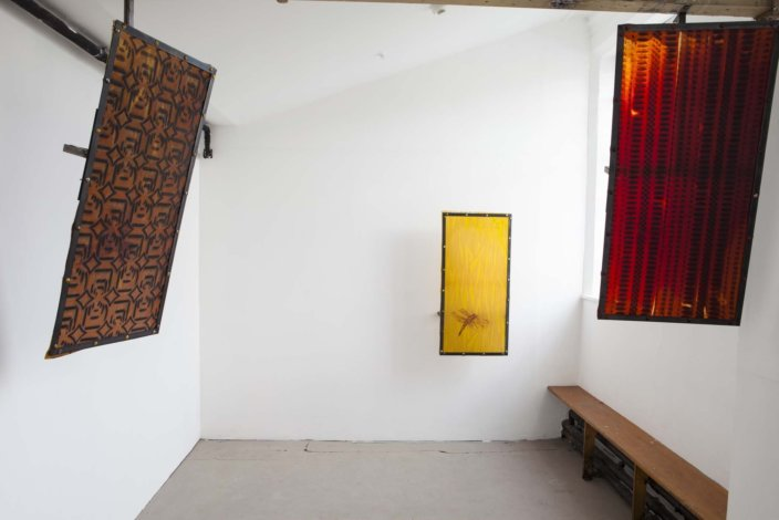 Installation view, Zabludowicz Collection Invites Ruairiadh O'Connell, 2012 at Zabludowicz Collection, London. Photo: Tim Bowditch