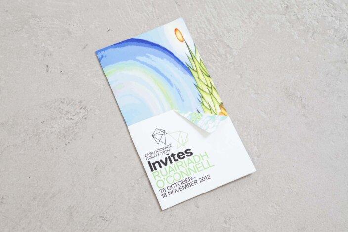 Zabludowicz Collection Invites Ruairiadh O'Connell Exhibition Guide, 2012